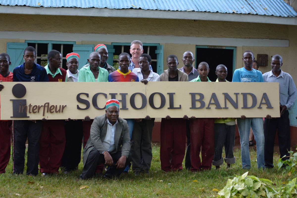 Interfleur Schule in Kenia Banda